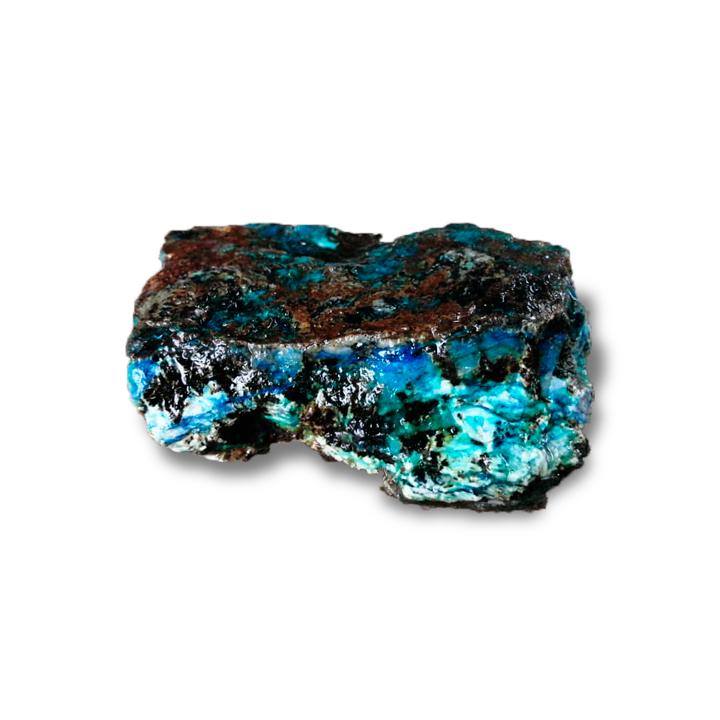 "Azurita ""océano azul"""