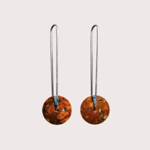 orbit-earrings-with-fine-silver-pin-rosophia-JA-001-ROS-001