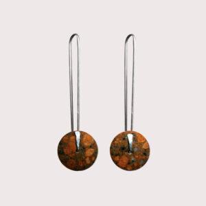 orbit-earrings-with-fine-silver-pin-rosophia-JA-001-ROS-002