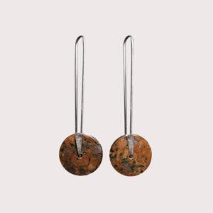 orbit-earrings-with-fine-silver-pin-rosophia-JA-001-ROS-003