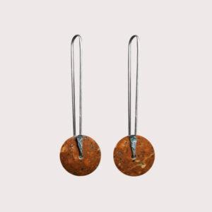orbit-earrings-with-fine-silver-pin-rosophia-JA-001-ROS-004
