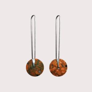 orbit-earrings-with-fine-silver-pin-rosophia-JA-001-ROS-006