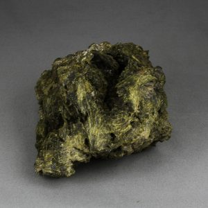 Epidote crystal cluster, with fan-shaped crystals, from Lima department in Peru, large cabinet size