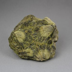 Beautiful epidote crystal cluster with fan-shaped crystal, Small-cabinet sized