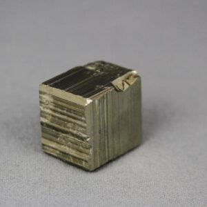 Pyrite crystal from Huanzala mine in Peru