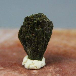 Epidote crystal cluster from Gemrock Peru´s crystal mining operation in Lima Provice, peru