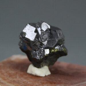 Galena crystal cluster